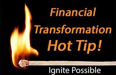 Financial Transformation-Hot Tip