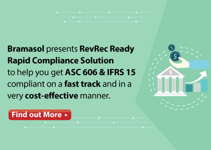 RevRec Ready rapid compliance solution by Bramasol