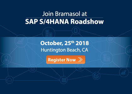 Join Bramasol at SAP S/4HANA Roadshow