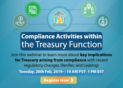 Compliance Activities within the Treasury Function