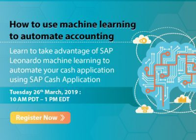 How to use machine learning to automate accounting (repurpose SAP Insider presentation)