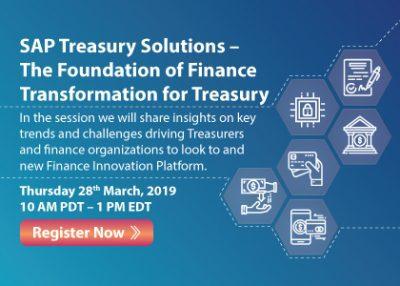SAP Treasury Solutions – The Foundation of Finance Transformation for Treasury (repurpose Insider)