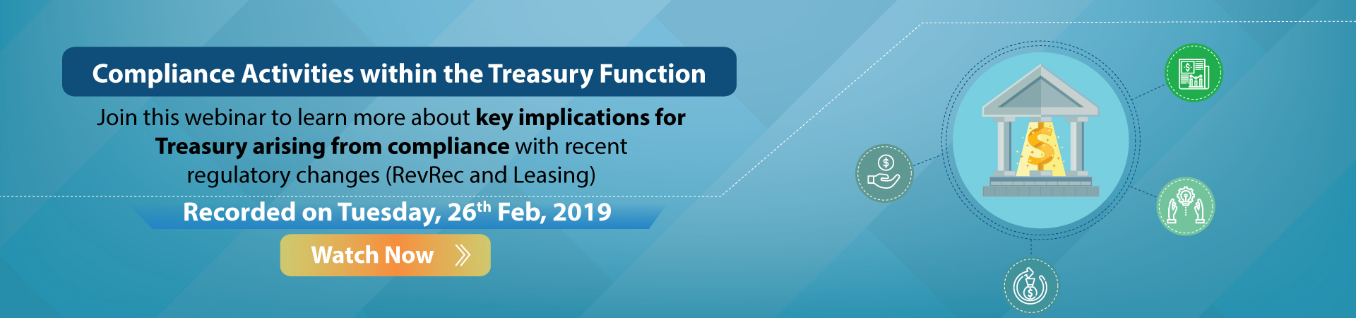 Compliance Activities within the Treasury Function – Feb 26, 2019