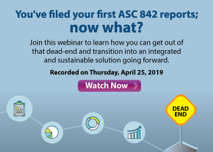 You've filed your first ASC 842 reports; now what?