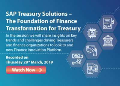 SAP Treasury Solutions – The Foundation of Finance Transformation for Treasury (repurpose Insider)