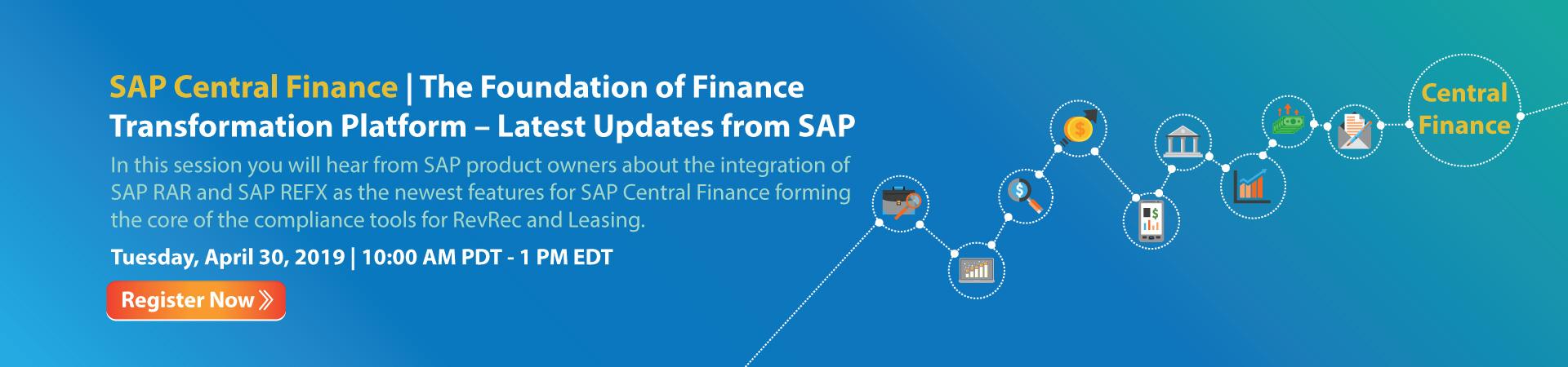 SAP Central Finance – The Foundation of Finance Transformation Platform