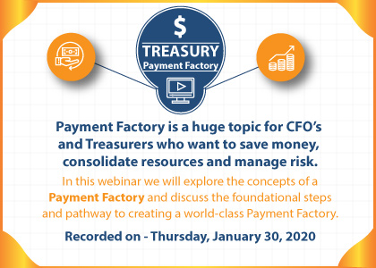 Treasury - Payment Factory