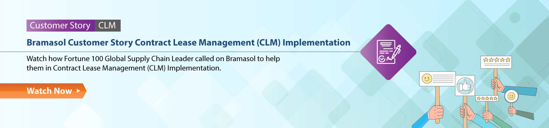 Customer Story Contract Lease Management (CLM) Implementation
