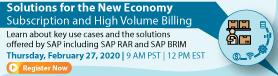 RevRec Disclosure and Analytics on SAP Analytics Cloud