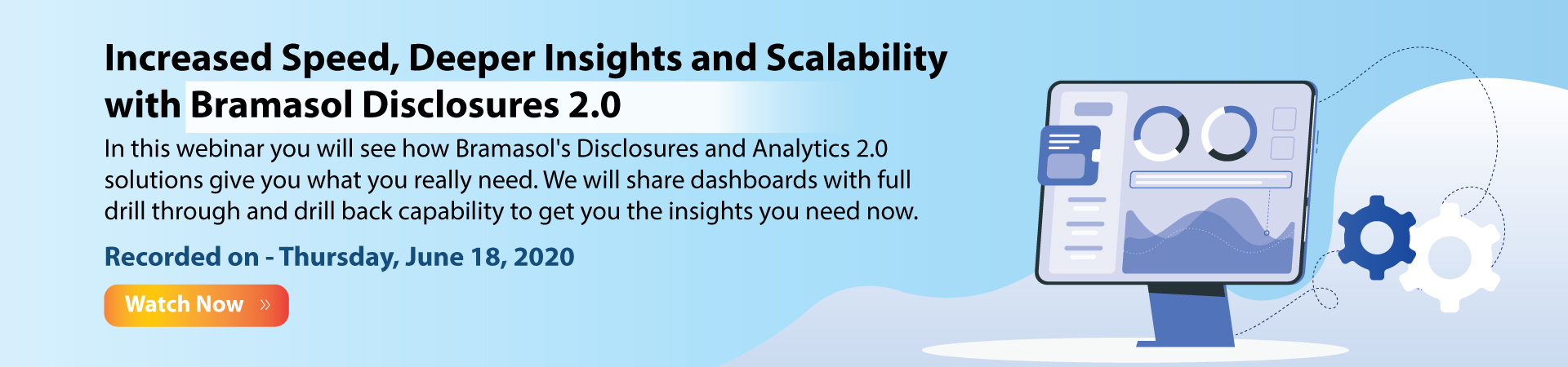 Disclosures and Analytics Banner