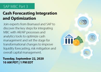 SAP MBC Part 3 Cash Forecasting Integration and Optimization