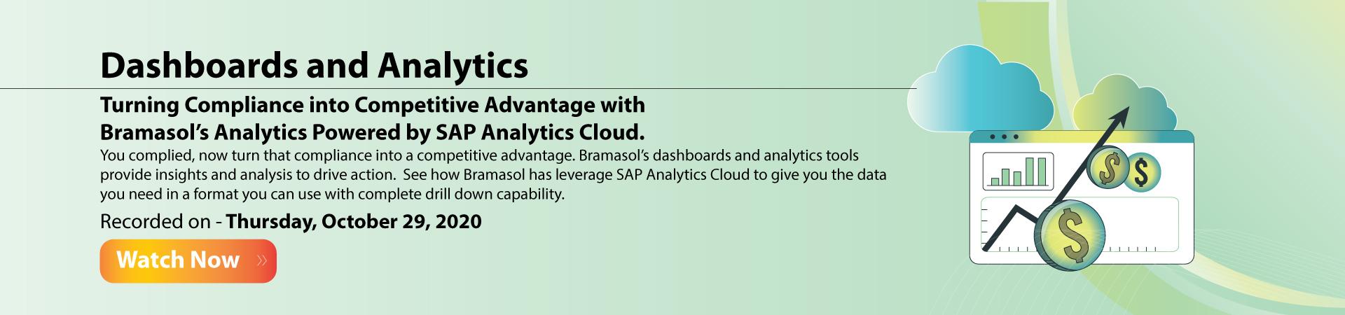 SAP Analytics Cloud Banner