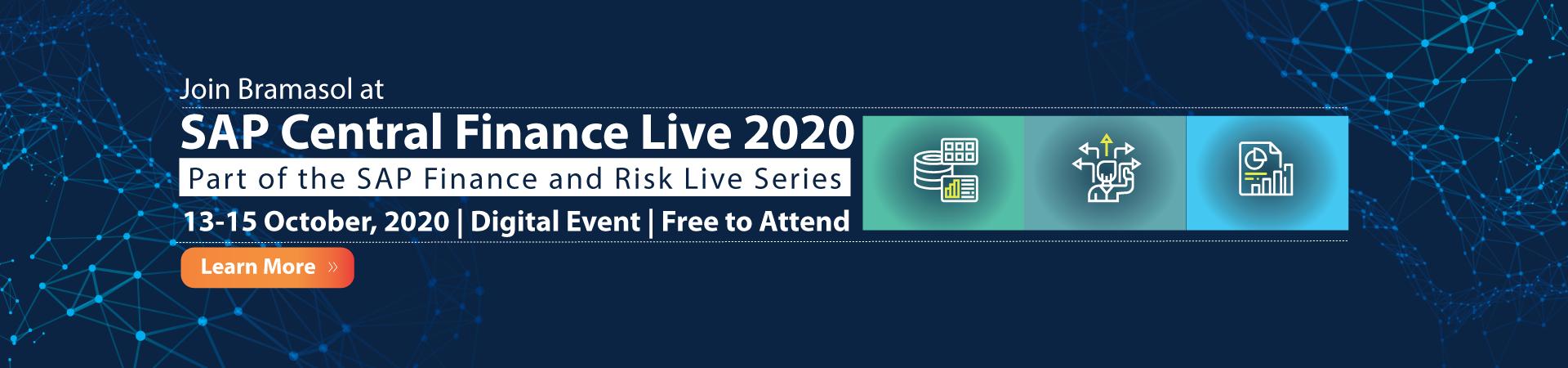 SAP Central Finance Live event