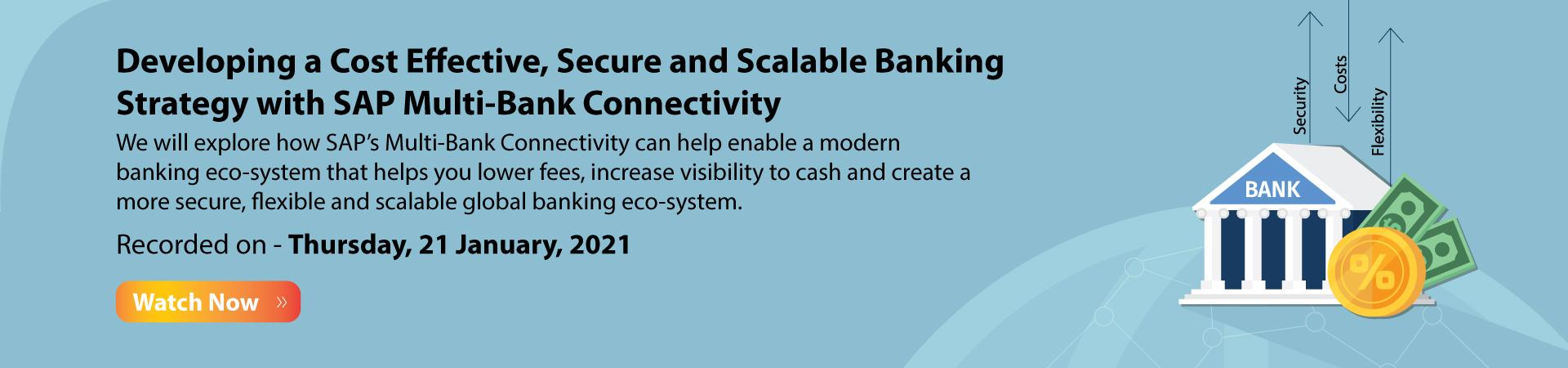 SAP Multi-Bank Connectivity Banner