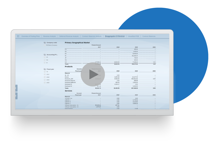 Financial Reporting Teams Video